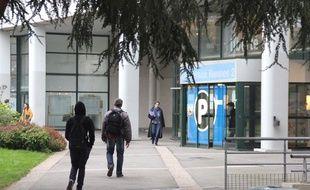 Le campus de l'université Rennes-II, le 11 novembre 2014.