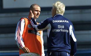 Leon Andreasen va manquer les deux matchs de son équipe contre la Suède.