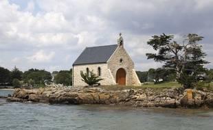L'île Boëdic, dans le golfe du Morbihan, ancienne propriété de l'avocat Olivier Metzner.