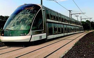 Le futur tram à deux étages de la CTS circulera sur la ligne D allant de Strasbourg à Kehl en enjambant le Rhin.