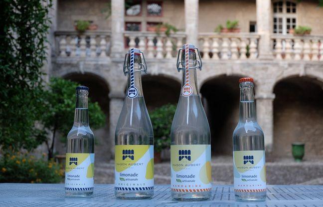 Les limonades de la Maison Aubert sont fabtiquées à Pézenas