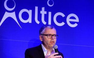 Michel Combes, patron de l'opérateur télécom SFR, le 22 mars 2016 à Paris