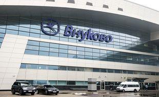 L'aéroport Vnoukovo de Moscou, le 21 octobre 2014.