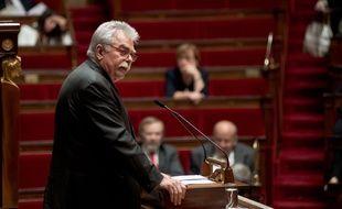 André Chassaigne à l'Assemblée nationale en juin 2015.