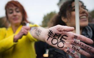 Manifestation de femmes pour dénoncer les agressions sexuelles (illustration).
