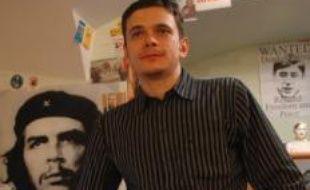 Ilia Yachine, leader du mouvement de jeunes de Yabloko, parti d'opposition en Russie.