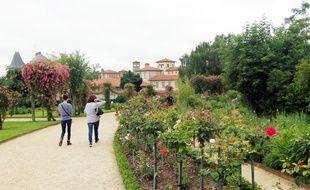 Le jardin botanique du parc du Thabor, à Rennes, abrite 3.200 espèces végétales.