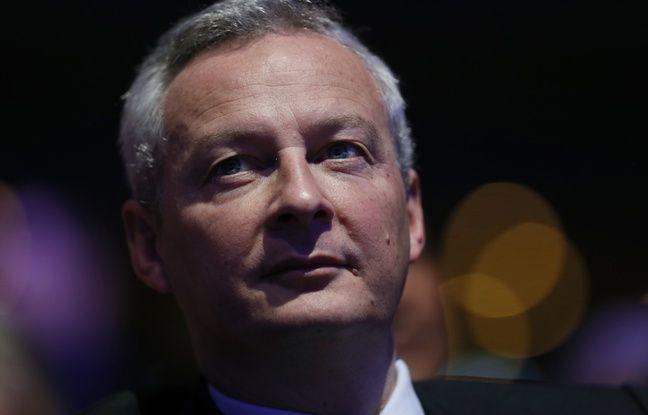 Bruno Le Maire, député LR de l'Eure, le 14 janvier 2017.