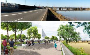 L'opération Euratlantique promet de transformer les berges de Garonne en lieu de promenade végétalisé.