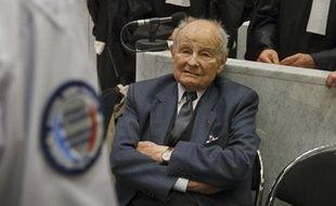 Jacques Servier lors du procès du Mediator, le 21 mai 2013.