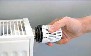 Baisser le chauffage d'un degré permet de réduire la consommation de 7%.