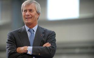 Vincent Bolloré, le 15 janvier 2016, à Ergue-Gaberic.