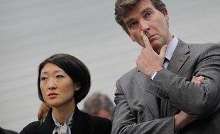 Fleur Pellerin, ministre deleguée aux PME et Arnaud Montebourg, ministre du Redressement productif.