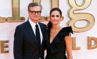 L'acteur Colin Firth et sa femme Livia Giuggioli