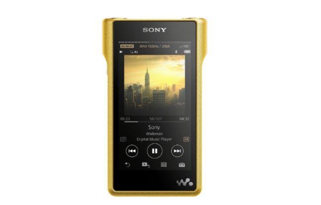 Vendu 3300 euros, le baladeur NW-WM1Z de Sony veut restituer les oeuvres dans leur qualité originelle.