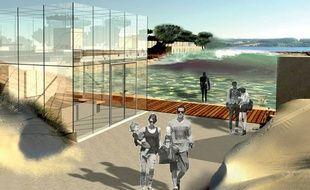 Visuel du projet de surf park à Bordeaux