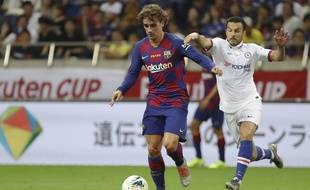 Antoine Griezmann sous le maillot du Barça