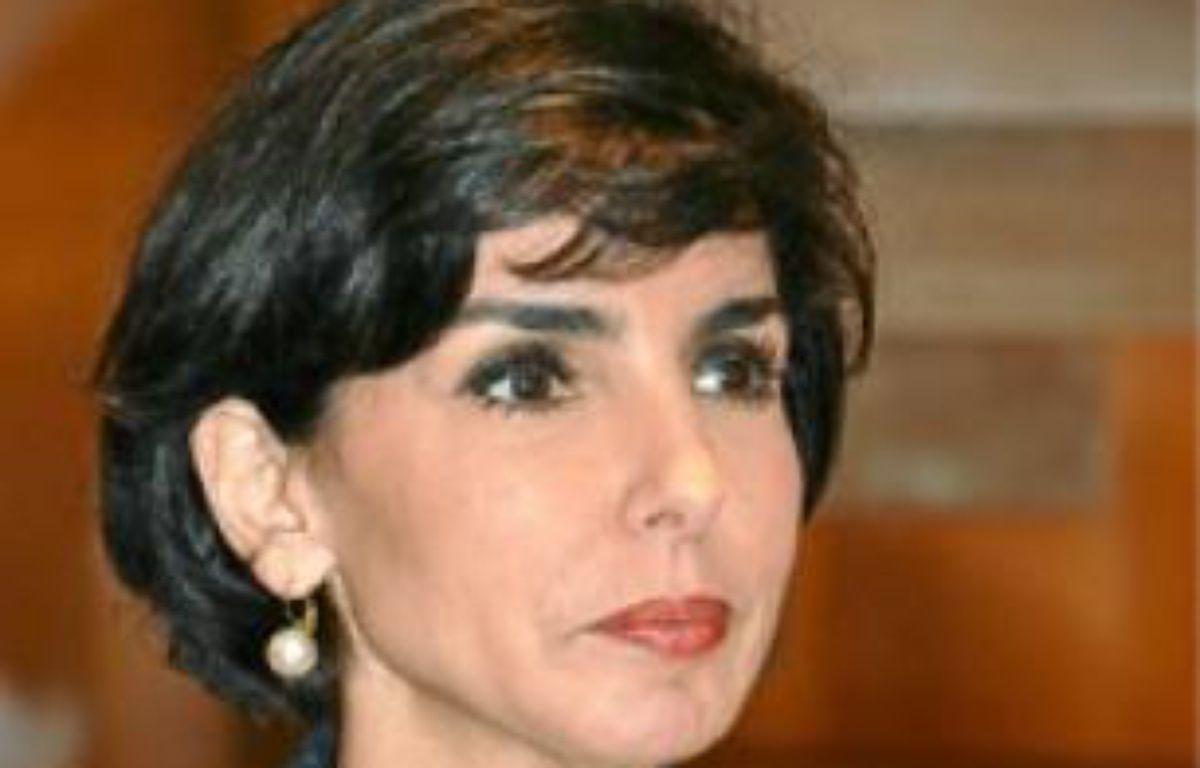 Rachida Dati, maire du 7e. –  IBO/SIPA