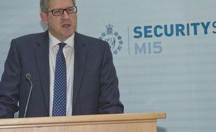 Le directeur général du MI5, le renseignement intérieur britannique, Andrew Parker (photo non datée).