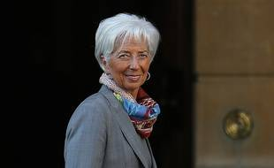 La directrice du Fonds monétaire international (FMI) Christine Lagarde.
