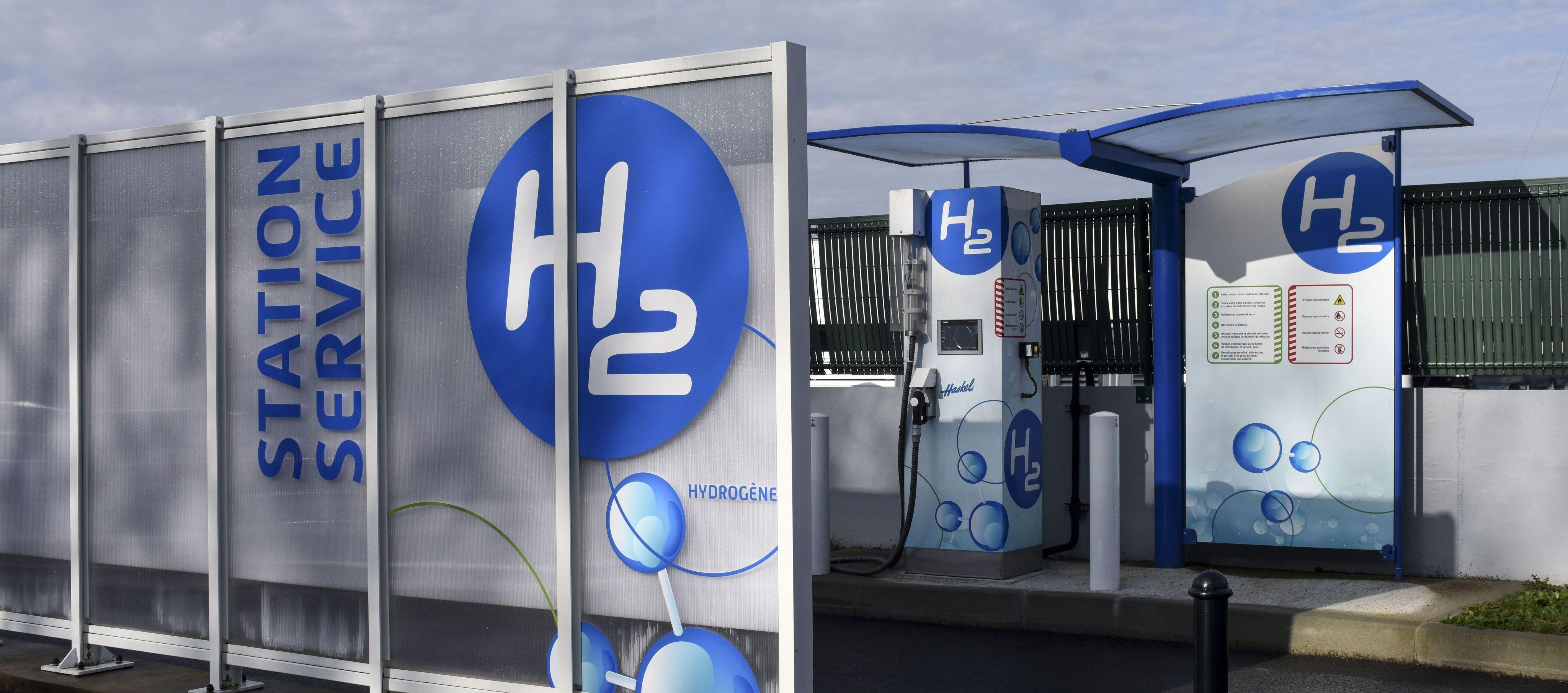 Une station d'hydrogène en Loire-Atlantique. (illustration)