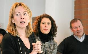 Stéphanie Goujon a dévoilé mardi les ambitions de son association à Lyon.