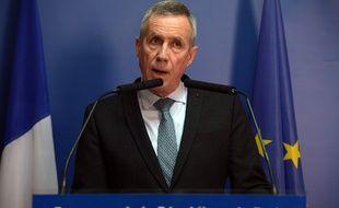 Le procureur Francois Molins lors de sa conférence de presse sur l'attentat des Champs-Elysées.