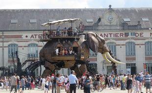 La CGT a lancé un appel général à la grève aux 300 salariés des machines de l'Île, dont ceux qui s'occupent du Grand Éléphant mécanique.