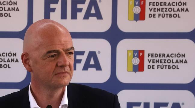 Coupe du monde : « Chaque pays a le droit de rêver », plaide Infantino pour défendre son Mondial biennal