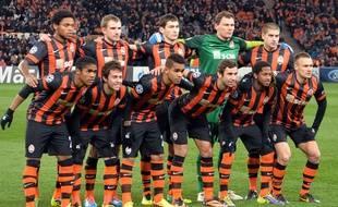 Les joueurs du Shaktar Donetsk le 27 novembre 2013.