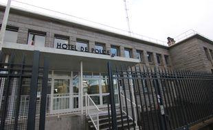 Le commissariat de police de Lorient (Morbihan), où une mère a déposé plainte pour viol contre le père de leur fille.