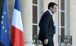 Le ministre français de l'Economie, Emmanuel Macron, le 2 mars 2016 à Paris