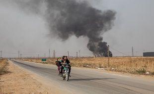 Tal Tamer, dans le Nord-Est syrien, le 14 novembre 2019.