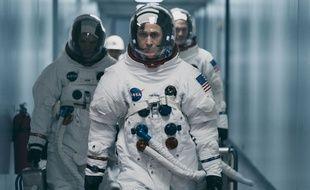 Des hommes de la NASA. Illustration.