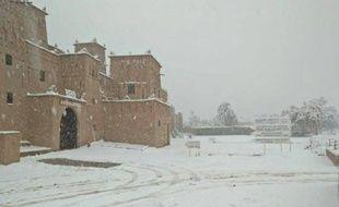 Le Maroc sous la neige - Capture d'écran Twitter/Keraunos