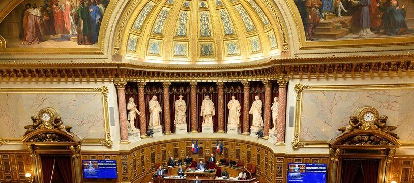 Le Sénat, dominé par la droite, discute du projet de loi de sortie de l'état d'urgence sanitaire. (illustration)