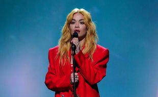 La chanteuse Rita Ora.