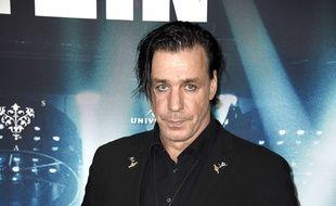 Le chanteur Till Lindemann.
