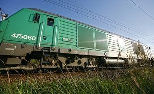Un train de fret de la SNCF (illustration).