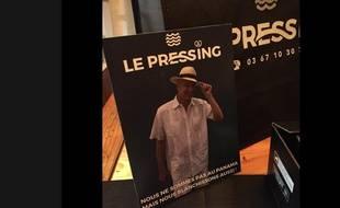 La campagne du Pressing von Elsass en référence au Panama, sur la page Facebook de l'entreprise.