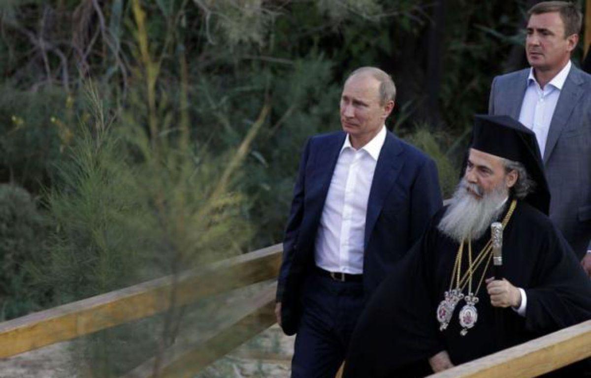 Le président russe Vladimir Poutine, en visite en Jordanie, a nié mardi avoir ordonné la dernière vague de répression contre l'opposition dans son pays, où la contestation du pouvoir se manifeste depuis les législatives de décembre. – Khalil Mazraawi afp.com