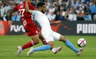 Jordan Amavi a beaucoup souffert face à Strasbourg.