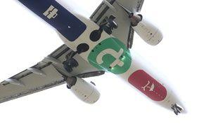 Illustration d'un avion de chez Transavia.