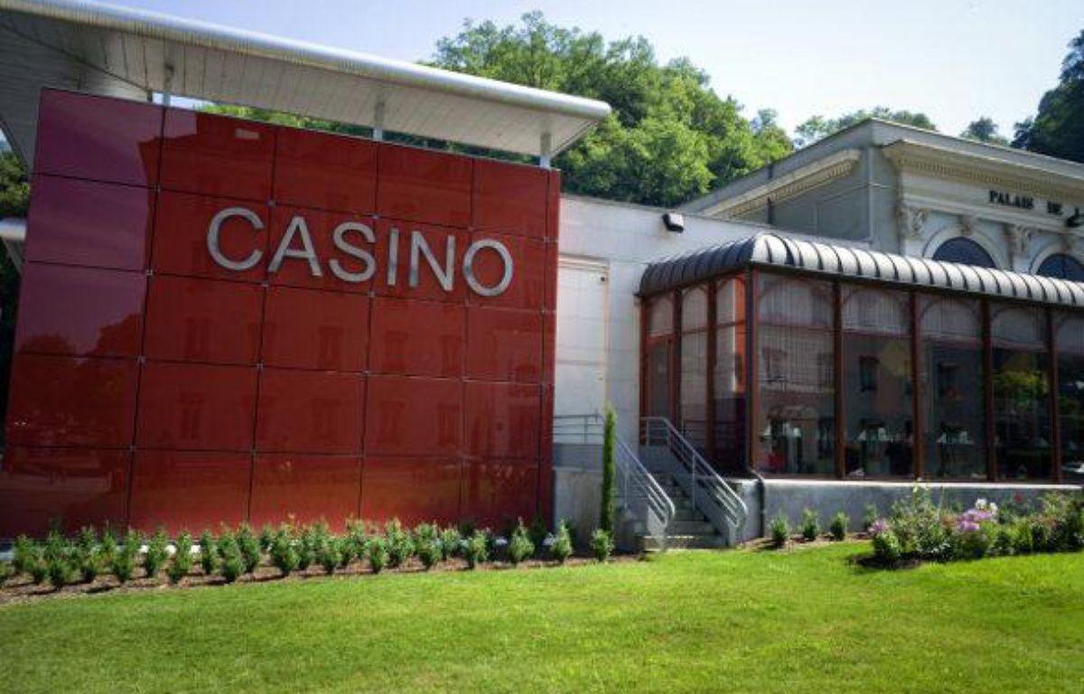 Le casino d'Uriages-les-Bains, braqué dans la nuit du 15 au 16 juillet 2010 – AFP/J.P. KSIAZEK