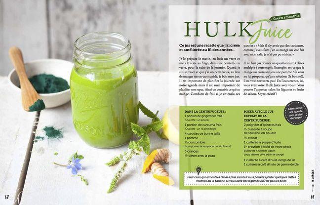 La recette du Hulk Juice....