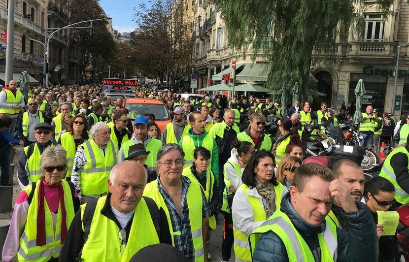 «Gilets jaunes» à Nice: On connaît les zones interdites à la manifestation