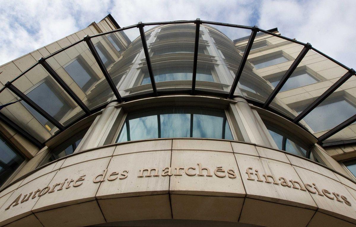 Le siège de l'Autorité des marchés financiers (AMF) à Paris. –  PRM/SIPA