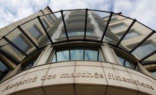 Le siège de l'Autorité des marchés financiers (AMF) à Paris.