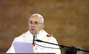 Le Pape François le 24 juillet 2013.