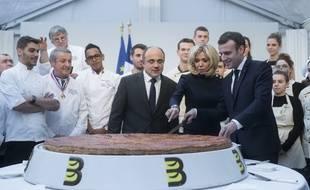 La traditionnelle galette de l'Elysée, vendredi 11 janvier, a été l'occasion pour Emmanuel Macron, pour lancer une pique dont il a le secret.